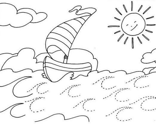 Imagenes Del Mar Para Colorear Mar Para Colorear Colores Dibujo Del Mar