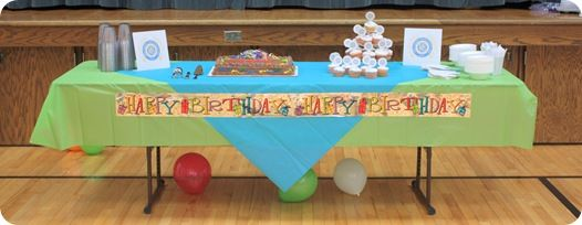RS birthday party