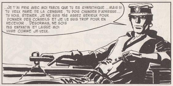 Hugo Pratt, Corto Maltese - Sous le signe du Capricorne - Samba avec Tir Fixe, Casterman.
