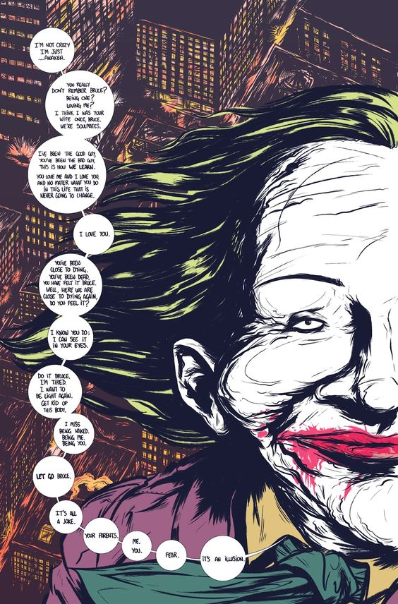 Moonhead Press: Batman: The Deal || This is the most gorgeous comic ever – not only for the art, but for the wonderful and deep message <3