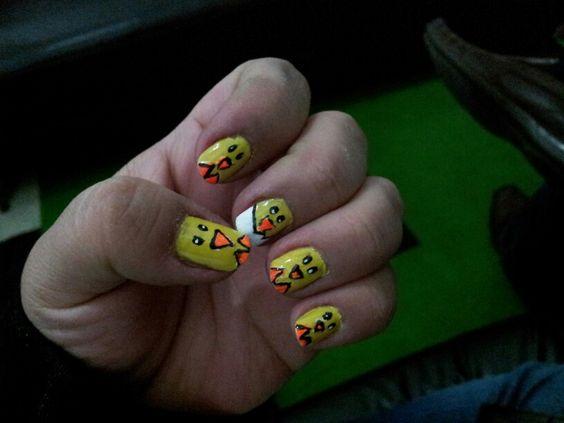 Mis uñas pollos