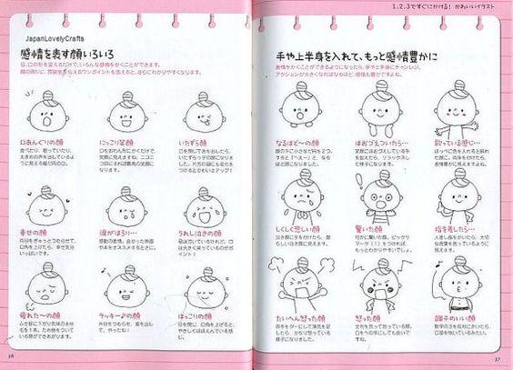 Easy & Kawaii Illustration Book Japanese by JapanLovelyCrafts