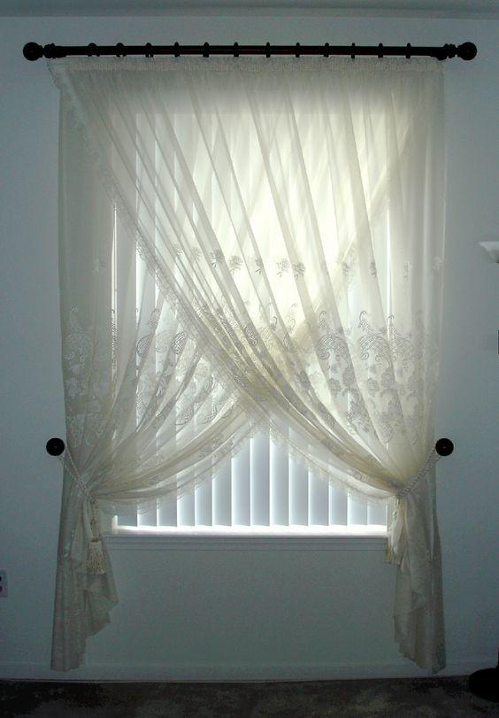 Priscilla Drapes Window Treatment Ideas Pinterest