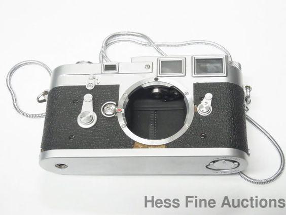 Vintage 1950s Leica M3 Double Stroke DBP Ernst Leitz Wetzlar Germany Chrome Body #Leica
