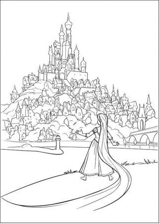 Ausmalbilder Rapuzel Rapunzel Ausmalbilder Rapunzel Malvorlagen Painting Coloringpages Coloring Ausma Ausmalen Disney Prinzessin Malvorlagen Ausmalbilder