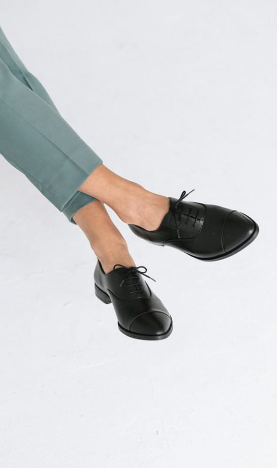 Skorzane Oxfordy Matowe Dance Shoes Shoes Tap Shoes