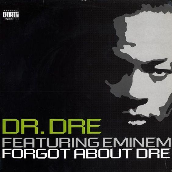 Dr. Dre, Eminem – Forget About Dre (single cover art)