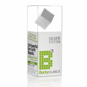216 Buckycubes Silver now featured on Fab.