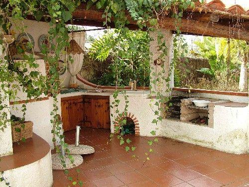 Cucina in muratura esterno cerca con google idee giardino pinterest tutorial pergole e - Cucina esterna in muratura con barbecue ...