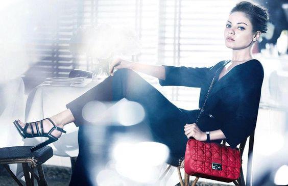 Mila Kunis' Ads for Miss Dior Handbag