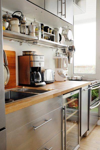 キッチン ステンレス ゴミ箱 コーディネート イメージ インテリア