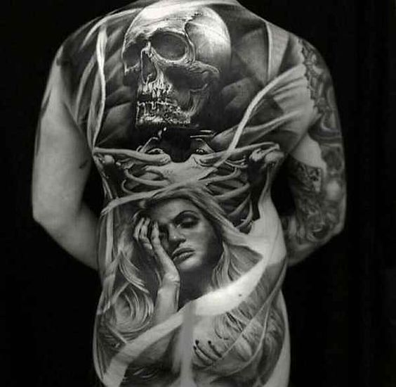 Black & Grey Monster Tattoos – Part 02