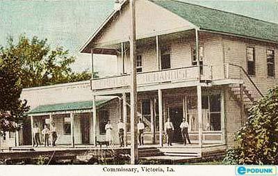 Old Victoria Store. Victoria,La