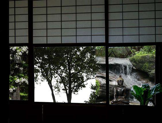 fen tre japonaise gif anim interieurs d 39 asie pinterest