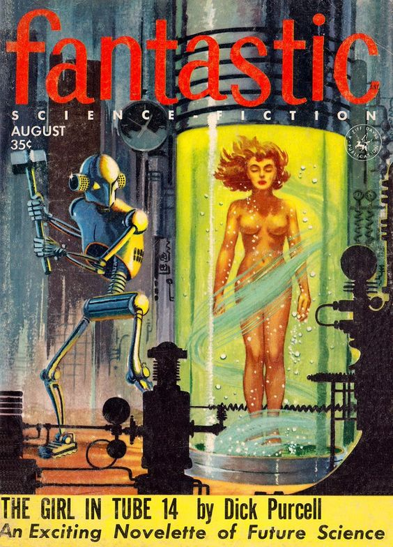 Fantastic, aug 1955