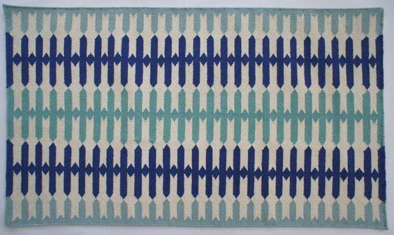 Aelfie's Modern Dhurries. Olivia rug.