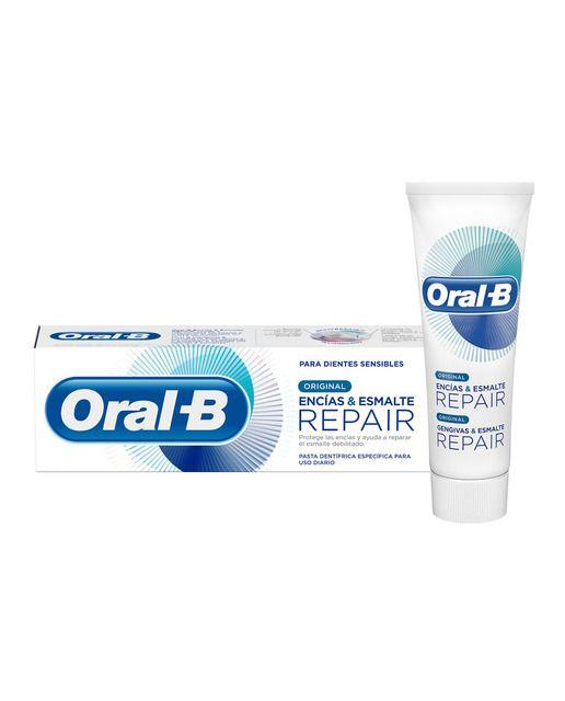 Pasta Dentifrica Encias Esmalte Repair Original Oral B En 2020