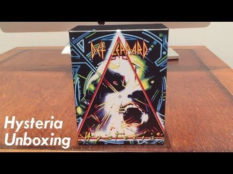Unboxing Def Leppard Hysteria 30th Anniversary Def Leppard Hysteria Def Leppard 30th Anniversary