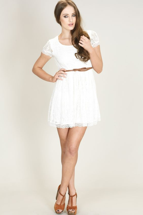 Beautiful White Dresses for Every Occasion - Warm- Summer dresses ...