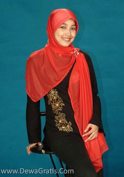 model pakai jilbab wanita berjilbab cewek berjilbab jilbab