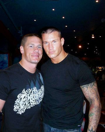 Randy Orton & John Cena ~ a picture is worth a thousand orgasms… i mean words