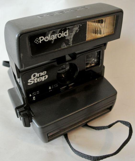 Vintage Polaroid One Step Camera, Instant Film Camera, Flash Camera, Working Condition by DomesticTitanVintage on Etsy