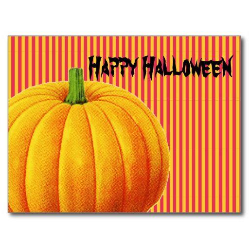 Big Orange #Pumpkin Post Cards