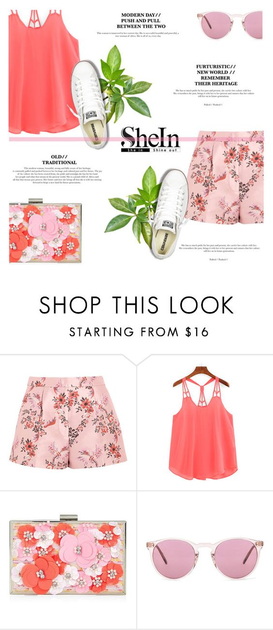 """""""Summer Date: The State Fair"""" by antemore-765 ❤ liked on Polyvore featuring STELLA McCARTNEY, New Look, Oliver Peoples, Converse, statefair and summerdate"""