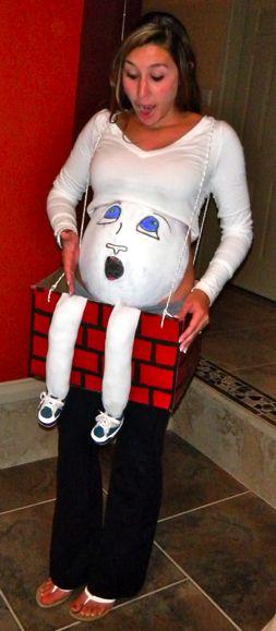 Humpty Dumpty Costume for Pregnant Women