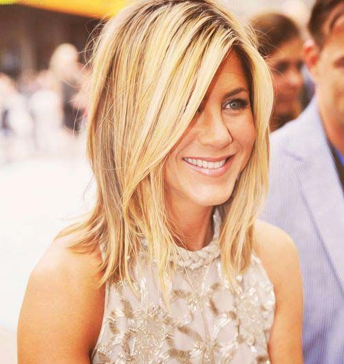 Enjoyable Jennifer Aniston Hair Type And Haircuts With Bangs On Pinterest Short Hairstyles For Black Women Fulllsitofus
