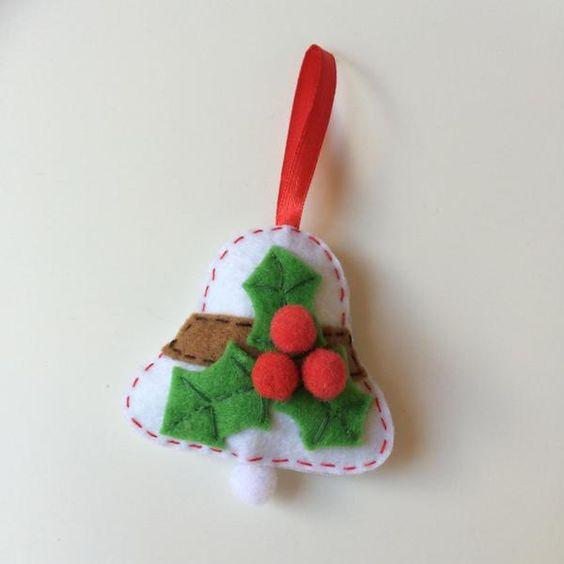 Adorno de la navidad para los ni os bolas navide as de - Bolas de navidad de fieltro ...