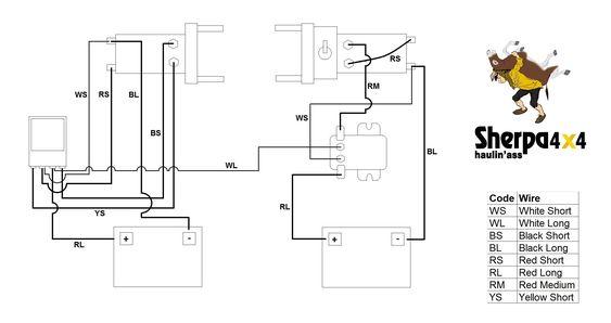 Pin On Wiring Diagram, Champion Winch Wiring Diagram