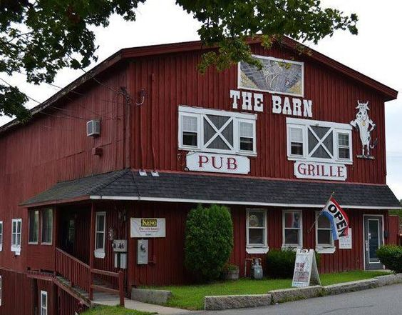 This is The Barn Pub & Grille in Amesbury, Massachusetts.