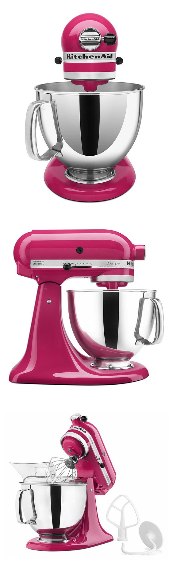 Pinterest the world s catalog of ideas - Flamingo pink kitchenaid mixer ...