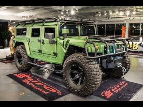 Best Hummer H1 Every Made Is Available For 289 950 Hummer Cars
