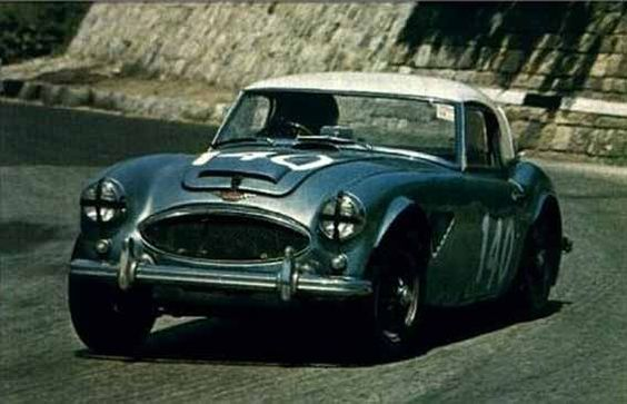 n.140 Austin Healey MKIII , Ted Worswick - Richard Bond , 29°assoluti, 4°categoria sport, 4°classe da 1601 a 5000 cc a 1 giro