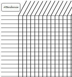 simple school attendance and google on pinterest. Black Bedroom Furniture Sets. Home Design Ideas