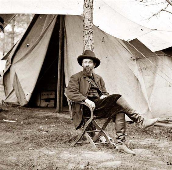 Cold Harbor, Virginia. Charles A. Dana, Assistant Secretary of War.