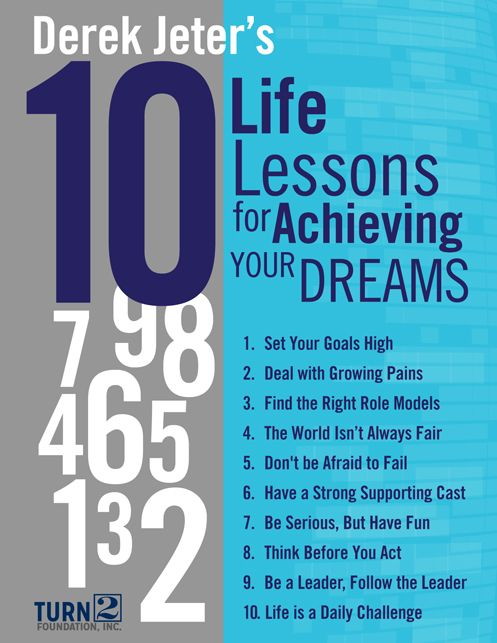 Image result for derek Jeter top 10 life lessons