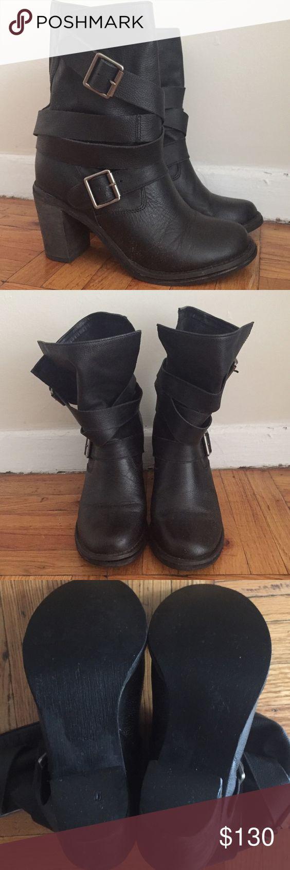 Jeffrey Campbell France Wrap Strap Boots (Black)   Black, Jeffrey ...
