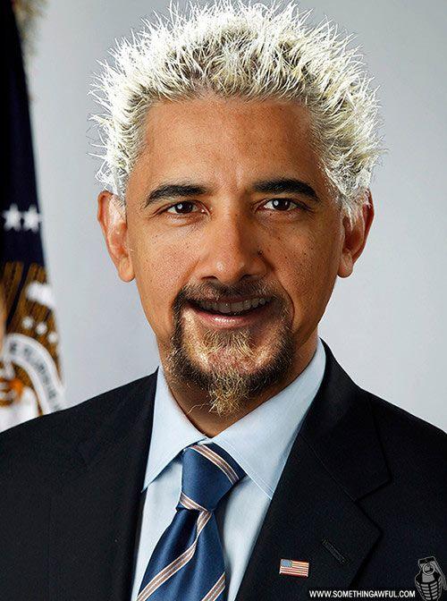 Guy Fieri Normal Hair