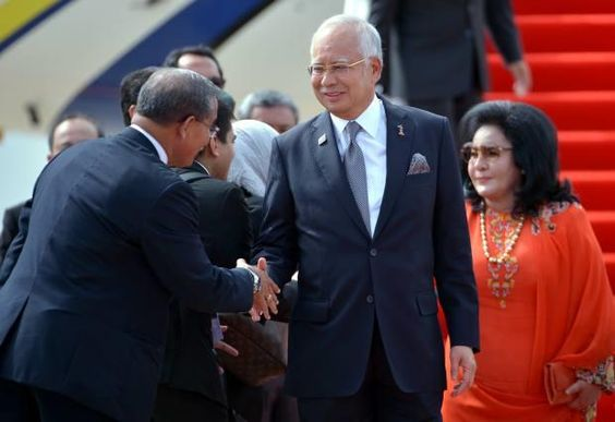 VIENTIANE: Prime Minister Datuk Seri Najib Tun Razak arrived here Monday to…