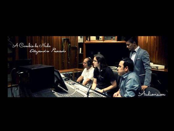 ALEJANDRO PRECIADO - Gestando una nueva canción. Las expectativas, el trabajo en equipo, la exigencia de calidad van generando una buena producción musical.