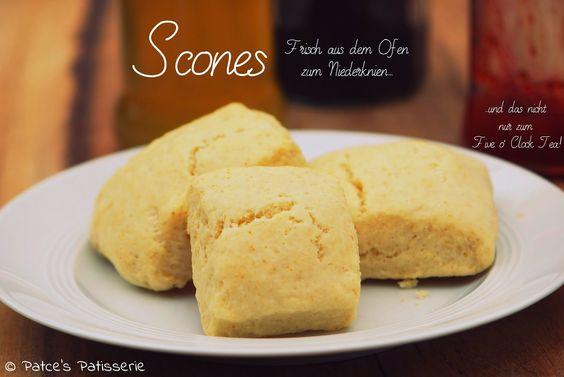 Patce's Patisserie: Scones [Frisch aus dem Ofen zum Niederknien...