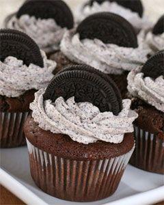 Oreo cupcakes - 4/12