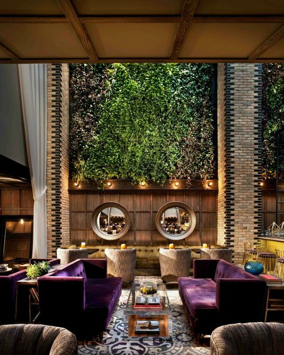 Furniture inspiration and design trends on pinterest for Hotel decor chicago