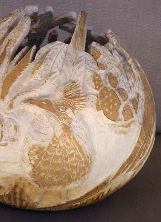 How to power carve gourds by phyllis sickles tutorials