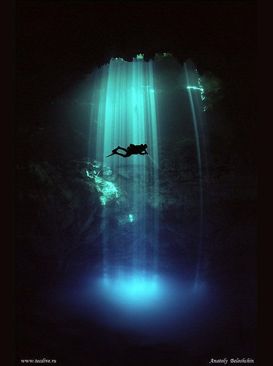 Cenote Angelita, Yucatán, México