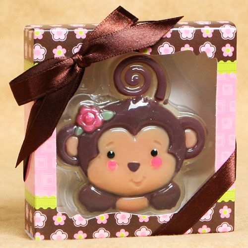 Monkey girl soaps baby shower favors matches my baby room baby shower ideas pinterest - Monkey baby shower favors ideas ...