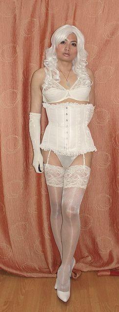 bridal lingerie , corset, panties, belts by Rafia T on Flickr. bridal lingerie , corset, panties, belts